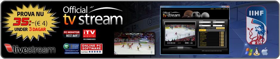 Sverige - Kanada Live Stream Hockey VM
